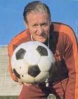 Nils Liedholm, allenatore della Roma