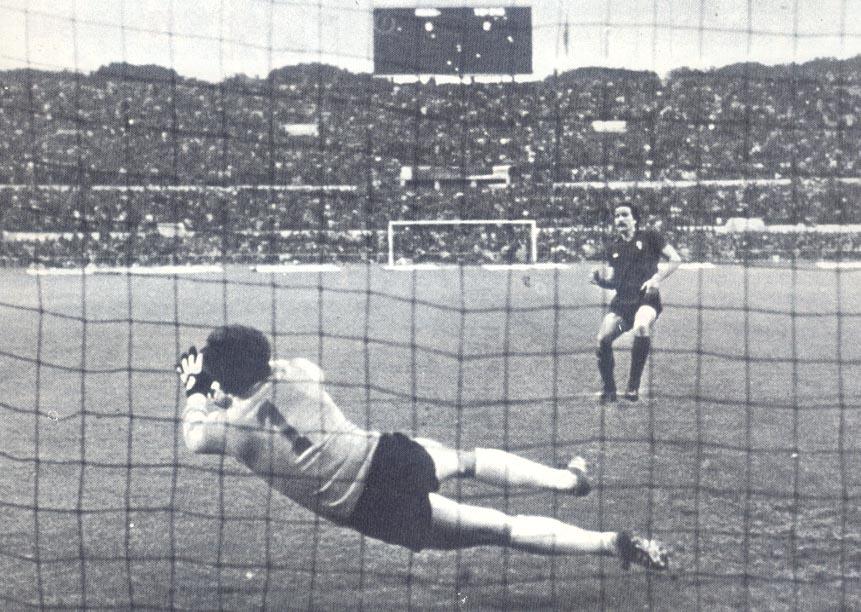 Tancredi para di rigore di Zaccarelli, la Roma si aggiudica la Coppa Italia 1979/80