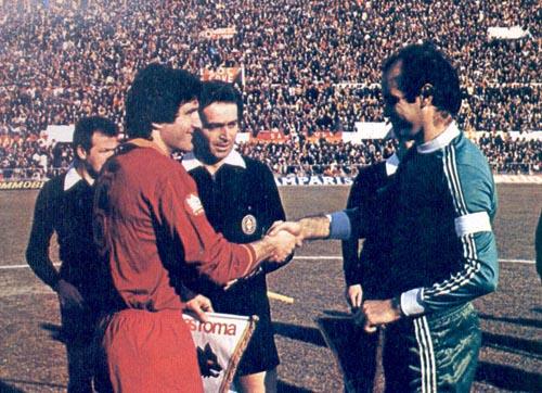 1980/81, Santarini in Roma-Avellino